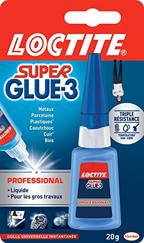 loctite colle forte super glue 3 professional 20 g. Black Bedroom Furniture Sets. Home Design Ideas