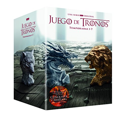 Juego De Tronos Temporada 1-7 Premium [DVD]