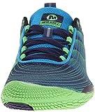 Merrell VAPOR GLOVE 2, Herren Outdoor Fitnessschuhe, Blau (RACER BLUE/BRIGHT GREEN), 41 EU - 4