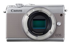 Canon EOS M100 - Cámara EVIL compacta de 24.2 MP (LCD, FHD, Bluetooth, Wifi/NFC, Dual Pixel AF, DIGIC 7) gris - solo cuerpo