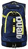 arena Unisex Profi Triathlon Rucksack Fastpack 2.1 für Schwimmer und Triathleten (11 Fächer, 40x35x55cm), Royal-Fluo Yellow (75), One Size
