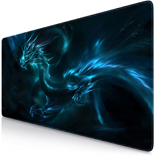 Sidorenko XXL Tappetino per Mouse da Gioco | Gaming PC Mouse Pad | 900 x 400 | Special Surface...