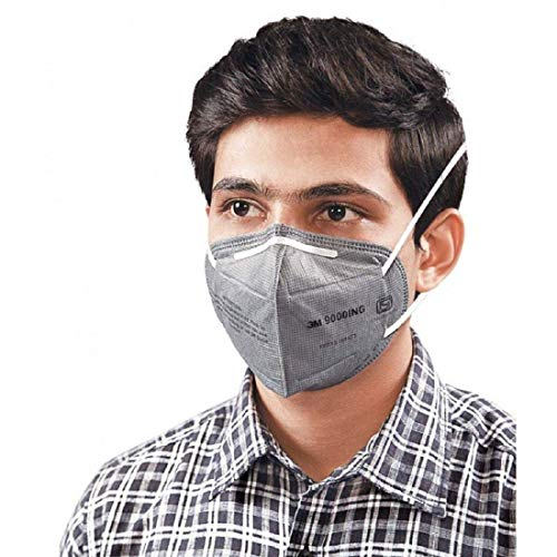 3 M Face Mask and Filter for Safety Protection Against Dust, Pollution, Smoke - A Pack of Four