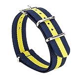 Gemony Nato Strap Premium Ballistic Nylon Watch Band, Larghezza di banda 20mm