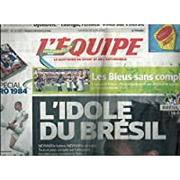 L'Equipe nø21895: Coupe du Monde / Neymar / Argentine / Ettori / Lloris / Salenko / Algerie / Yepes