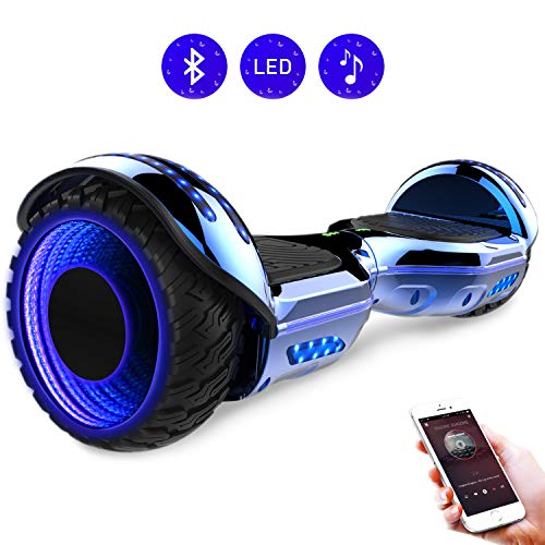 RCB Hoverboard elettrico da 6,5 pollici auto bilanciamento Hoverboard con ruote 6.5'' lampeggianti...