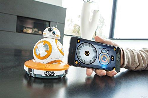 51bhZriRsML - Sphero R001ROW, Robot electrónico droide BB-8 Star Wars (R001ROW)