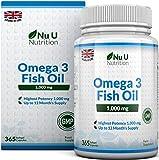 Nu U Omega 3 Olio di Pesce Formula AvanzataI benefici per la salute apportati dagli acidi grassi Omega 3 sono ben documentati. Il corpo umano non è in grado di sintetizzare questi acidi grassi essenziali, ma è necessario assumerli mangiando pesce azz...