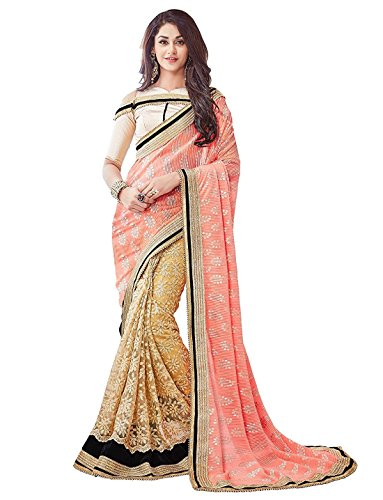 Women's Multicolor Linen Saree