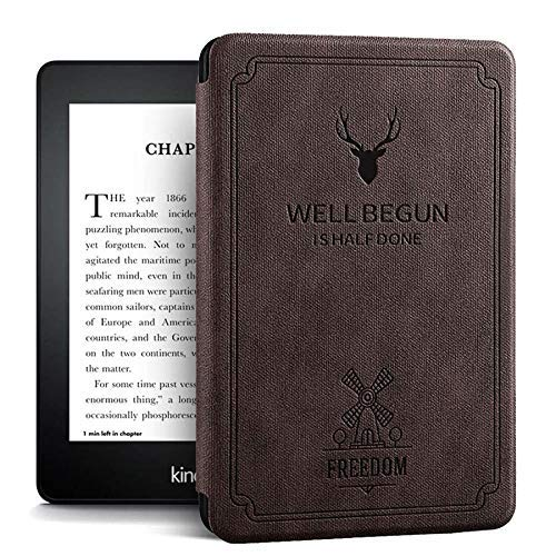 ProElite Deer Smart Flip case Cover for All Amazon Kindle Paperwhite 10th Generation (Deer Coffee) 13