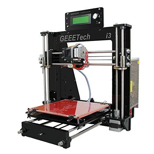 Geeetech Prusa I3 Pro B stampante 3D in acrilicocon kit non montato, Kit fai da te di alta qualità...