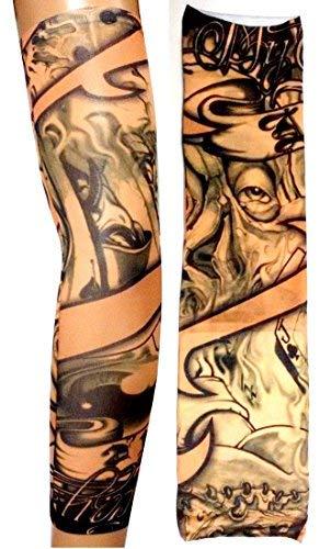 Inception Pro Infinite W05 - Modello 64 - Manicotto Tattoo - Indossabile - Manica - Tatuaggio Finto...