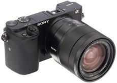 "Sony A6000 - Cámara EVIL de 24 Mp (pantalla LCD 3"", estabilizador óptico, vídeo Full HD, WiFi), negro - Kit cuerpo con objetivo 16 - 70 mm (SEL1670Z)"