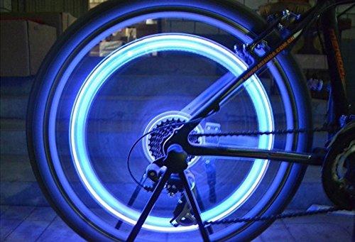 Tookie colorato rotella valvola della luce, 5paio LED flash-Kit luci, luci ruota di...