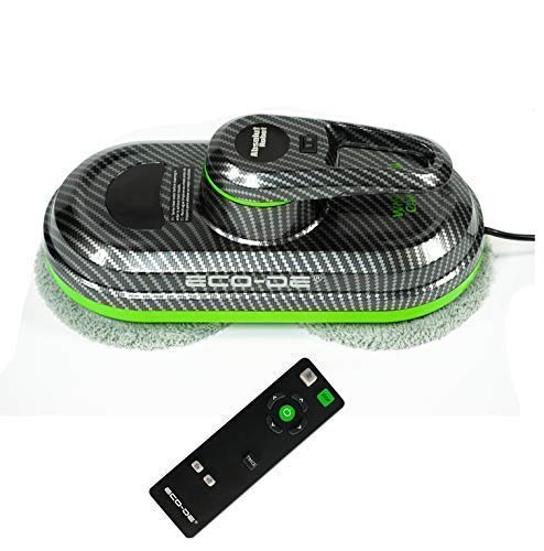 Absolut Carbon Window Cleaner WINCLEAN Automatique, pour fenetres, 3 programmes, 12 chiffons microfibres incluses ECO-996 ECO-DE