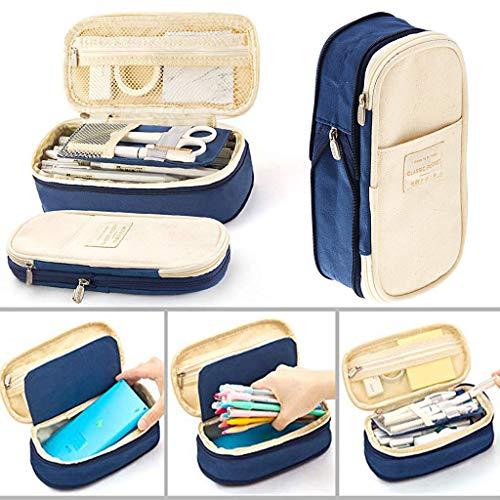 Rmoon Astuccio Scuola Grande Capacità Astuccio Matite Portapenne Scuola Pencil Case Per Stationery...