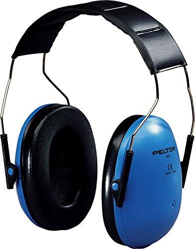 3M H4 Orejera con diadema azul 24 dB (1 orejera/caja), H4A