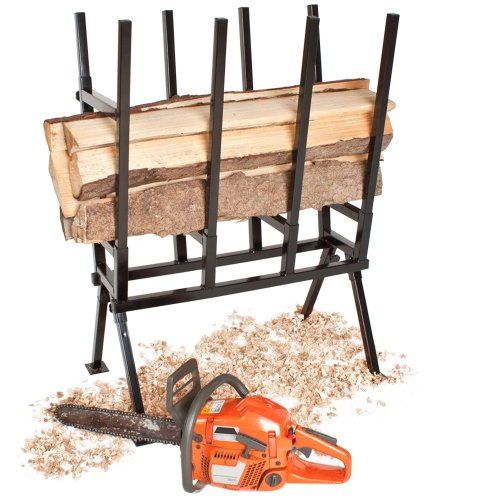 If you have been in search of a saw horse with a large weight capacity then the TecTake Saw Horse max 400kg might be perfect for you. The unit possesses a maximum capacity of 400kgs which is no small feat. The unit is capable of holding large logs without compromising on the stability of the saw horse. The good thing about this unit is that in as much as it can hold large amounts of weight, it is affordable. We would recommend this model for users facing large loads of logs to cut through. It is a stable product and therefore dependable.
