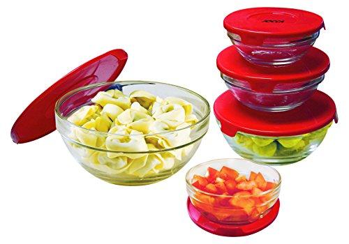 Set de bowls de cristal