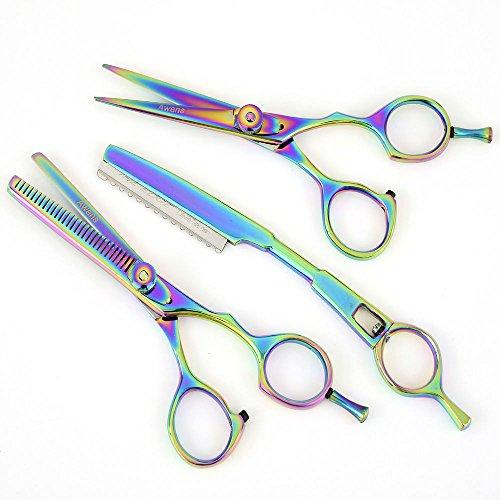 """Forbici per parrucchieri salone di barbiere, le forbici d'assottigliamento 5.5 """", assottigliamento Razor"""