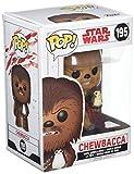 Funko- The Last Pop Bobble: Star Wars: Gli Ultimi Jedi: Chewbecca con PORG, 14748