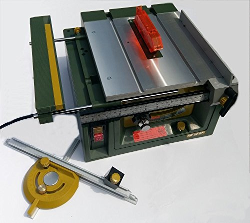 This is the ideal machine for intricate projects, thanks to its ability to make fine adjustments by up to 1/10mm. There's literally no material this table saw can't go through and that's a major advantage over many other models.