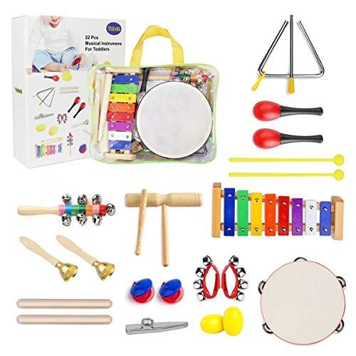 Kit Instrumentos Musicales para Niños 13 en 1