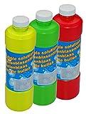 1Liter Seifenblasenflüssigkeit Nachfüller ideal für Seifenblasen Pistolen Stäbe Seifen Blasen Lauge SEIFENBLASEN FLUID für Seifenblasen Spiele & Seifenblasenmaschine GYD