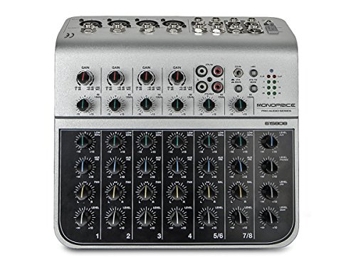 Monoprice Mono Price 8-Channel Audio Mixer With USB