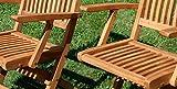 ASS Gartenstuhl klappbahr mit Armlehne - 5