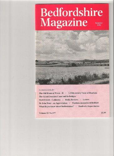 Bedfordshire Magazine Vol 23 No 177 Summer 1991