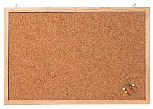 Franken CC-KT60100 - Lavagna in sughero, lavagna memo, 60 x 100 cm, marrone