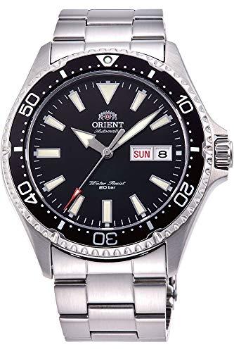 Orient Herren Analog Automatik Uhr mit Edelstahl Armband RA-AA0001B19B