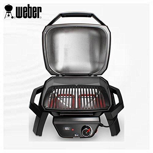 Weber 81010053 Pulse 1000 Barbecue elettrico, Nero