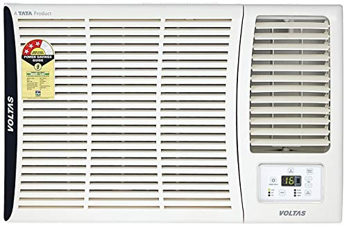 Voltas 1.5 Ton 3 Star Window AC (Copper, 183 DZA/ 183 DZA R32, White)