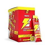 """Prozis Suplemento Dietético """"Energy Gel"""" con Beta-Alanina y Cafeína, sabor Limón - 20 Bolsitos x 25 g"""