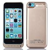 Forhouse Funda batería iPhone SE 5SE 5 5S 4200mAh Battery Charger, Funda de Carga Protectora de Cargador Externo Recargable Ultra Delgado con indicador de Encendido LED para iPhone SE 5SE 5