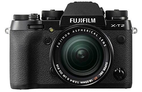 Fujifilm X-T2 + Obiettivo Zoom XF18-55mm F2.8-4 R LM OIS Fotocamera digitale da 24 megapixel,...