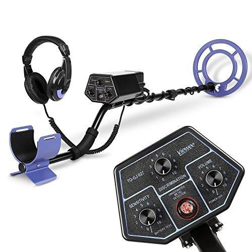 Viewee Metal Detector - Impermeabile 10M subacqueo LED con Cuffia Rivelatore Subacqueo per Acqua...