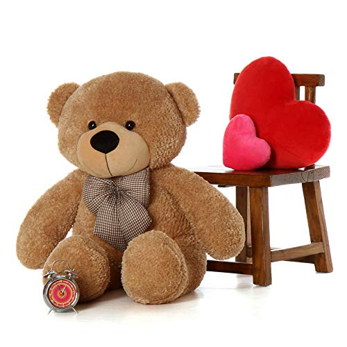 Buttercup Teddy Bear - Amazon Exclusive Cuddly Soft Teddy Bear - 2 Feet 60 cm, Light Brown)