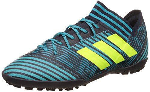 adidas Nemeziz Tango 73 Tf, Scarpe per Allenamento Calcio Uomo, Multicolore (Legend Ink/Solar Yellow/Energy Blue), 44 2/3 EU