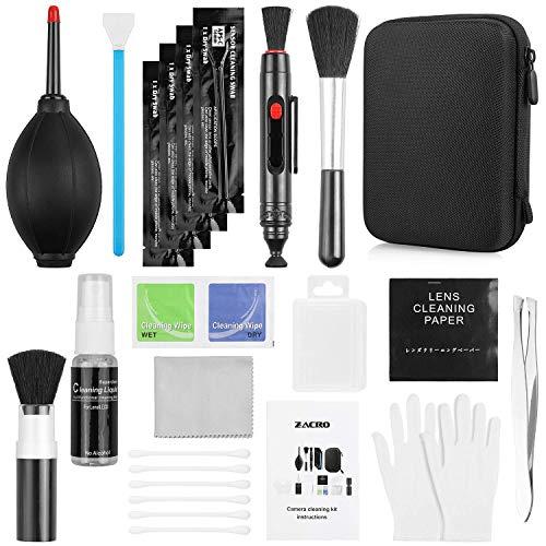 Zacro 14 Kit Pulizia Fotocamere Professionale per KooKen di pulizia per Obiettivo fotografico...