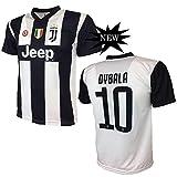 Juventus F.C. MAGLIA DYBALA 10 JUVENTUS replica prodotto ufficiale 2018/19 autorizzato JJFC bambino (taglie 2 4 6 8 10 12) adulto (S M L XL) (TAGLIA XL)