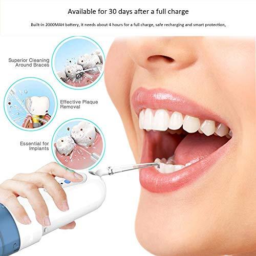 iBaste Irrigateur Dentaire Portable Nettoyeur de Dents électrique Fil d'eau d'irrigation Orale 23