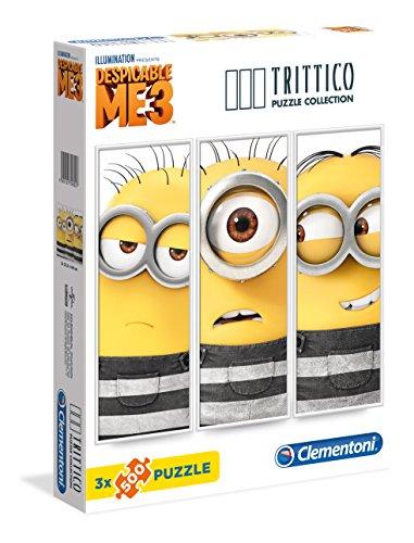 Clementoni - 39802 - Trittico Puzzle - Despicable Me - 3 x 500 Pezzi