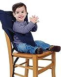 GudeHome Trona Portatil de Viaje para Bebe Tronas para Sillas Ideal para comer fuera de Casa y Vacaciones Muy Práctico perfecto Regalo y No ocupa espacio Cabe en el Bolso Se envia un color aleatorio
