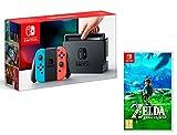 Nintendo Switch console Rouge/Bleu Néon 32Go + The Legend of Zelda: Breath of the Wild