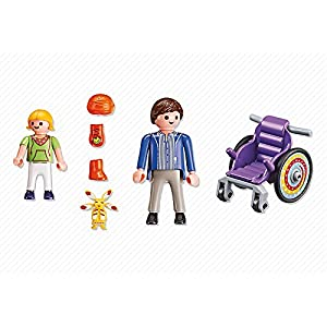 Playmobil Child in Wheelchair Life