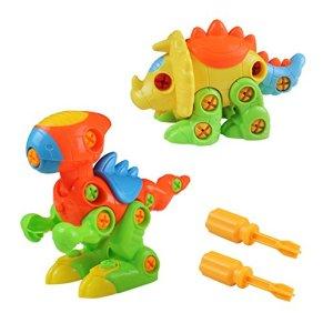 Puzzle 3D Desmontar Dinosaurios Juguetes Puzzle Dinosaurios Ingeniería Construccion de Juguete Tirón Arrastrar para Los…