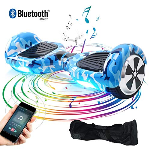 BEBK Windgoo Hoverboard Self Balance Scooter con LED